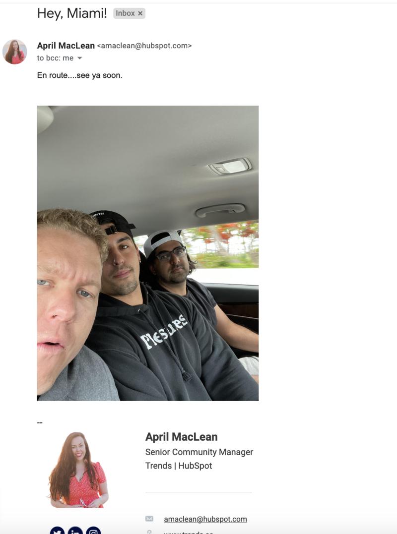 April MaClean Hubspot